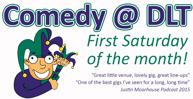 Comedy @ Darwen Library Theatre