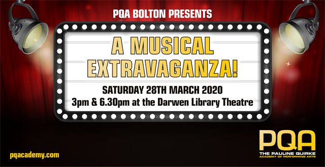 PQA: A Musical Extravaganza **CANCELLED**